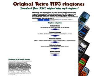 retroringtones.net screenshot