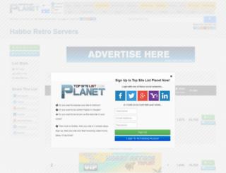 retroservers.top-site-list.com screenshot
