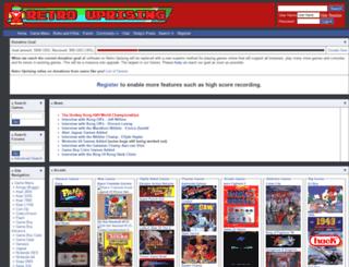 retrouprising.com screenshot