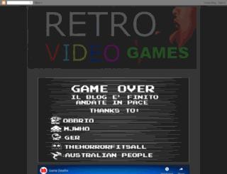 retrovideogame.blogspot.com screenshot