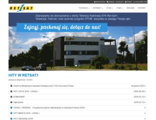 retsat1.com.pl screenshot