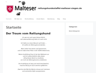 rettungshundestaffel-malteser-siegen.de screenshot