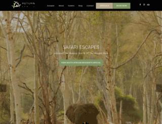 returnafrica.com screenshot