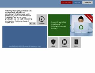 returnilvirtualsystem.com screenshot