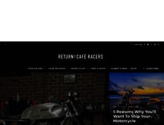 returnofthecaferacers.com screenshot