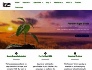 returnonnow.com screenshot