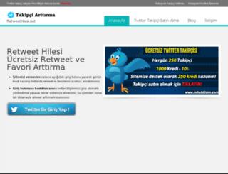 retweethilesi.net screenshot