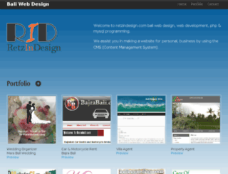 retzindesign.com screenshot