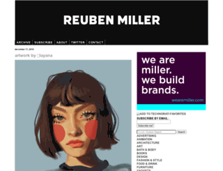 reubenmiller.typepad.com screenshot