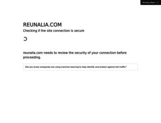 reunalia.com screenshot