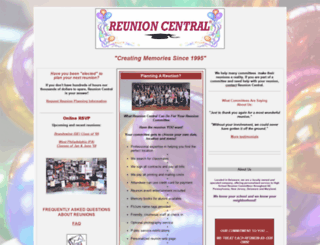 reunioncentral.com screenshot