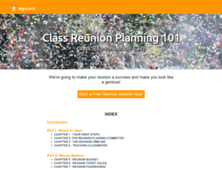 reunionclass.com screenshot