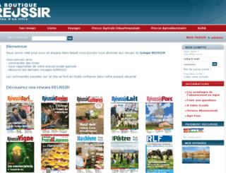 reussir-boutique.com screenshot