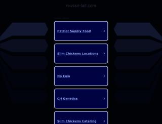 reussir-lait.com screenshot