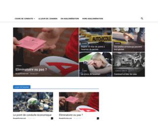 reussirpermis.com screenshot