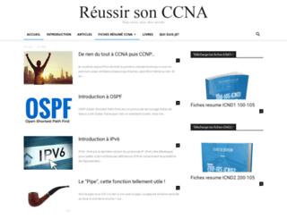 reussirsonccna.fr screenshot