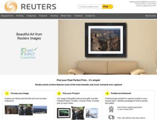 reuters.mediastorehouse.com screenshot