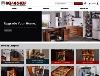 rev-a-shelf.com screenshot