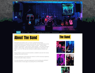 revampedtheband.co.uk screenshot