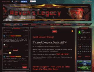 revans-legacy.com screenshot