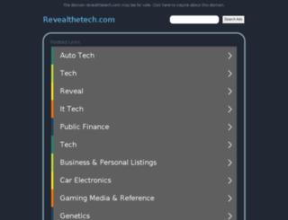 revealthetech.com screenshot