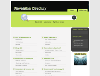 revelationdirectory.com screenshot