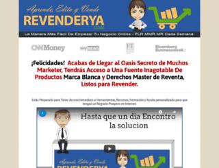 revenderya.com screenshot