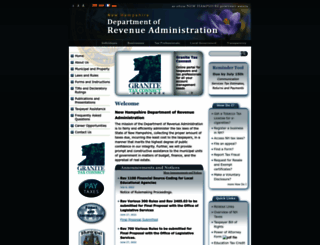 revenue.nh.gov screenshot