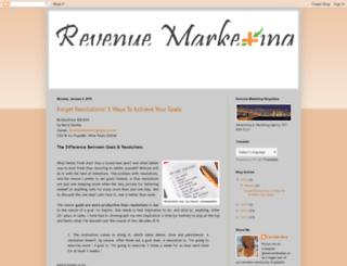revenuemarketingblogxiliary.blogspot.com screenshot