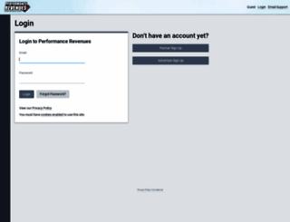revenues.performancerevenues.com screenshot