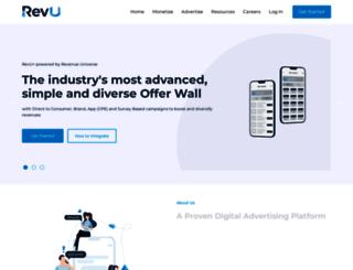 revenueuniverse.com screenshot