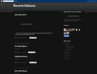 reverbnations.blogspot.fr screenshot
