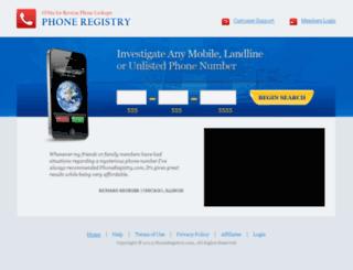 reverse-lookup-directory.com screenshot