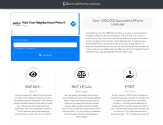 reverse-phonelookup.net screenshot