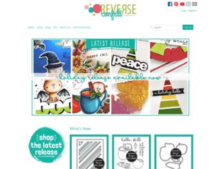 reverseconfetti.com screenshot