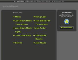 reversematrix.com screenshot