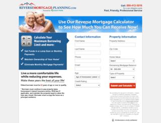 reversemortgage-planning.com screenshot