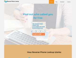 reversephonelookup.site screenshot