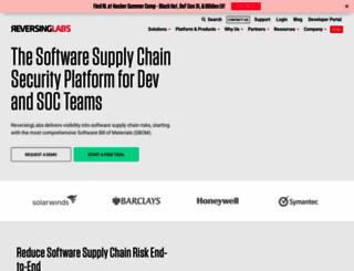 reversinglabs.com screenshot