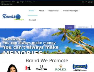 reversoholidays.com screenshot