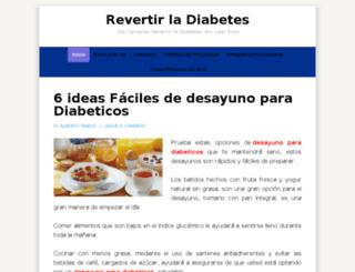 revertirladiabetesahora.com screenshot