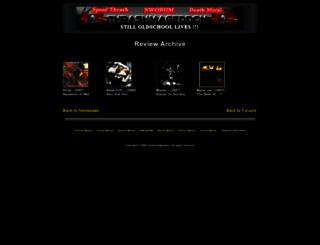 review.thrashmageddon.com screenshot
