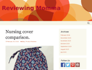 reviewingmomma.com screenshot