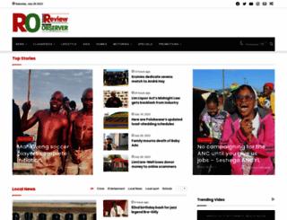 reviewonline.co.za screenshot