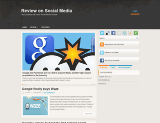 reviewonsocialmedia.blogspot.com screenshot