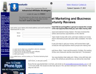 reviewopportunity.com screenshot