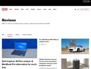 reviews.cnet.co.uk screenshot