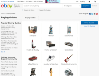 reviews.ebay.com screenshot