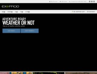 reviews.exofficio.com screenshot