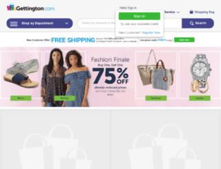 reviews.gettington.com screenshot
